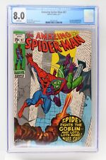 Amazing Spider-Man #97 - Marvel 1971 CGC 8.0 Drug story not approved by the Comi