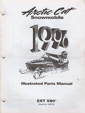 1996 ARCTIC CAT SNOWMOBILE EXT 580 PARTS MANUAL P/N 2255-334 (721)