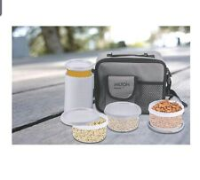 Milton Meal Combi Plastic Lunch Box Set-Free Shipping Worldwide