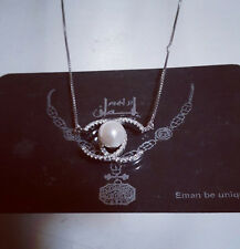 italian 925 sterling silver with natural pearl