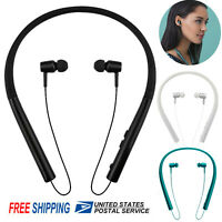 Bluetooth Headset Noise Cancelling Earbuds Neck Band Headphone For iPhone XS XR