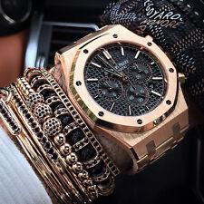 Men Women New Style Anil Arjandas Bracelet 18k Rose Gold Filled Pave Macrame