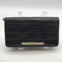 Brahmin Black Leather Wallet
