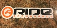 Ride Snowboard Sticker - Snowboarding Skiing Mountain Sports Burton Ski Aspen