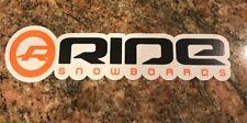 Ride Snowboard Sticker - Snowboarding Skiing Mountain Sports Burton Ski Aspen