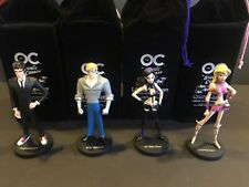 The OC Atomic County Maquette Action Figures Comic Con 2006 DC Direct Full Set