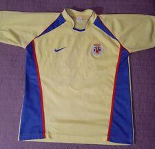 Nike Villarreal CF Retro Home Kit Yellow Spain La Liga Soccer Jersey #26 XL