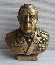 Russian Soviet USSR LEONID BREZHNEV bust statue H=12cm