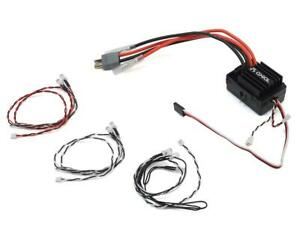 Axial AE-5L Waterproof 3S Brushed Crawler ESC w/LED Port & Lights [AXI31480]
