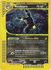 CCG 6 Pokemon Skyridge Holo Nachtara/Umbreon H30/H32 Deutsche Karte