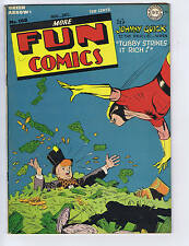 More Fun Comics #100 DC Pub 1944 Rare High grade! VF +