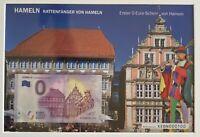 BILLET 0  EURO HAMELN  ALLEMAGNE  2018 NUMERO 100