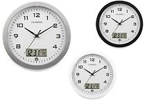 Round Wall Clocks with 12 Hour Display