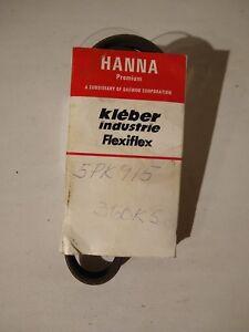 HANNA Automotive Serpentine Belt Part # 5PK915