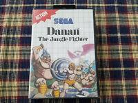 Danan The Jungle Fighter - Authentic - Sega Master - Case / Box Only!