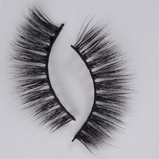 1Pairs Luxurious Mink 3D False Eyelashes Volume Soft Long Fake Eye Lashes Cilios