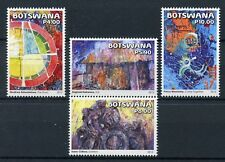 Botswana 2015 MNH Abstract Art Isaac Chibua Prince Marokane 4v Set Stamps