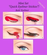 ORIGINAL Quick Eyeliner Stickies Stickers Eye Makeup Tool STARTER SET 12 pcs UK2