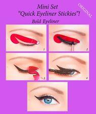 ORIGINAL Quick Eyeliner Stickies Stickers Eye Makeup Tool STARTER SET 12 pcs UK2
