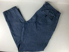 PENGUIN Pants 36x32 Mens Blue Chambray Skinny Leg MUNSINGWEAR