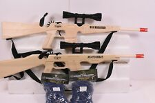MAGNUM RUBBER BAND GUNS  GL2AK47SS+GL2M16MSS AK-47 VS M-16 COMBO PLUS AMMMO