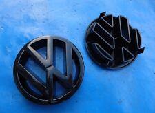 Zeichen Emblem Kühlerzeichen VW Golf  Rally 2 Kühlergrill schwarz Jetta Cabrio 1