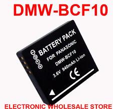 Battery for Panasonic DMW-BCF10E DMW-BCF10PP CGA-S/106B CGA-S/106C CGA-S/106D