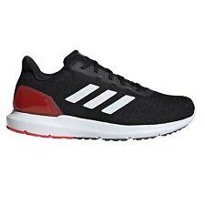 adidas Cosmic 2 Mens Running Fitness Trainer Shoe Black/White/Red