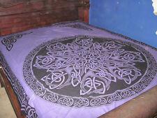 Purple Celtic Knot MandalaTapestry,  bedspread, table cloth, wall hanging