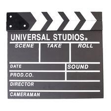 Film Movie Clap Clapper Board White Clapperboard Slate Directer Video Scene Prop