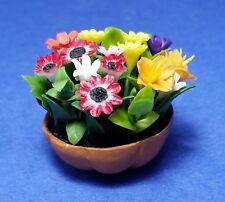 Miniature Dollhouse Flower Arrangement 1:12 Scale New A2675