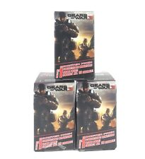 Gears of War 3 Series Booster Pack Lot Of 3 Miniature Figures Wizkids NECA 2011