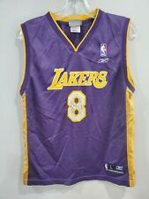 Rare Vintage 90s NBA Los Angeles Lakers Kobe Bryant 8 Jersey Youth L Purple