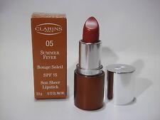 Clarins Summer Fever Sun Sheer Lipstick SPF15  , 05 Sunset Cinnamon