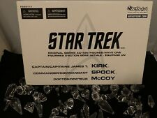 Art Asylum Star Trek Original Series Action Figures Wave One Kirk Spock Mccoy  i
