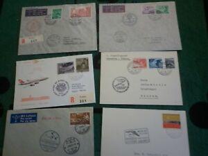 Briefe Liechtenstein, -6- Belge, sehr schön