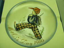 Hummel Mother's Day Plate 1986-Home From School With Box