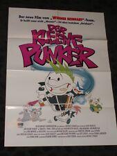 The Little Punker Cartoon folded German Movie video promo Poster