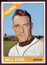 1966 TOPPS BILL FAUL CARD NO:322 NEAR MINT CONDITION