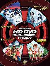 The Best of HD DVD Family Happy Feet, Corpse Bride, Scooby-Doo, AntBully