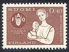 FINLANDE 1963 FAO/FFH/FREEDOM FROM HUNGER/Mère/Enfant/Animation 1 V (n41005)