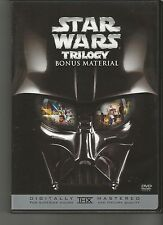 STAR WARS BONUS MATERIAL DVD 1 DISC 4 HOURS USA REGION 1 (DISC ONLY) SHIPS FAST