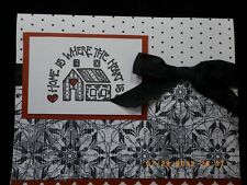 Handmade Card New House Home Is Where The Heart Is Congratulations