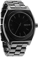 New Nixon Ceramic Time Teller Watch in Black A250000 A250-000