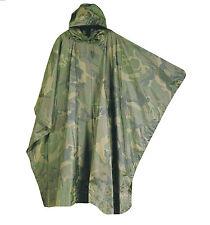 WATERPROOF CAMPING PONCHO camo smock walking jacket camping festival coat hiking