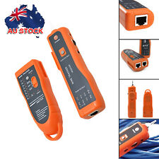 Network LAN Telephone RJ45/11 Cable Wire Tracker Line Tracer Tester