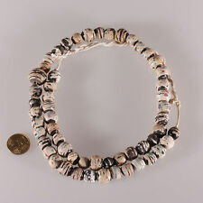 8146  perles anciennes murrine Venice millefiori XIX perle de troc