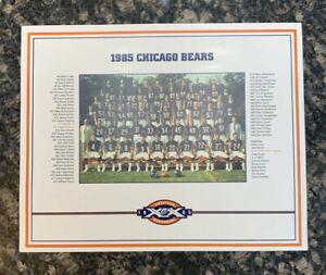 1985 Chicago Bears Super Bowl XX Champs Team Photo NFL 20th Anniversary 8x10