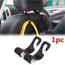 Universal Car Auto Back Seat Hook Hanger Bag Coat Purse Organizer Holder 1PC New