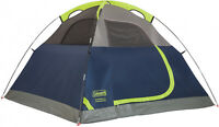 Coleman Navy Blue Sundome 4-Person Tent Easy Setup Outdoor Camping Picnic Tent